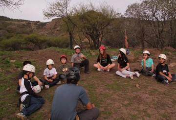 Actividades OutDoors en Winter Camp Piedra Roja