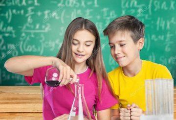 niños quimica