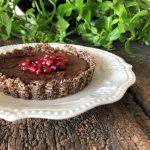 Tarta de Chocolate y Ciruelas