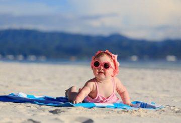 Bebé en verano jpg
